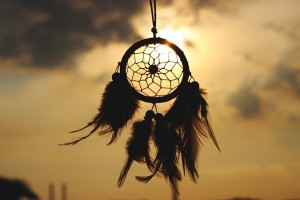 Reiki Drum Dream catcher