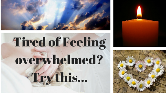 Tired of feeling overwhelmed?