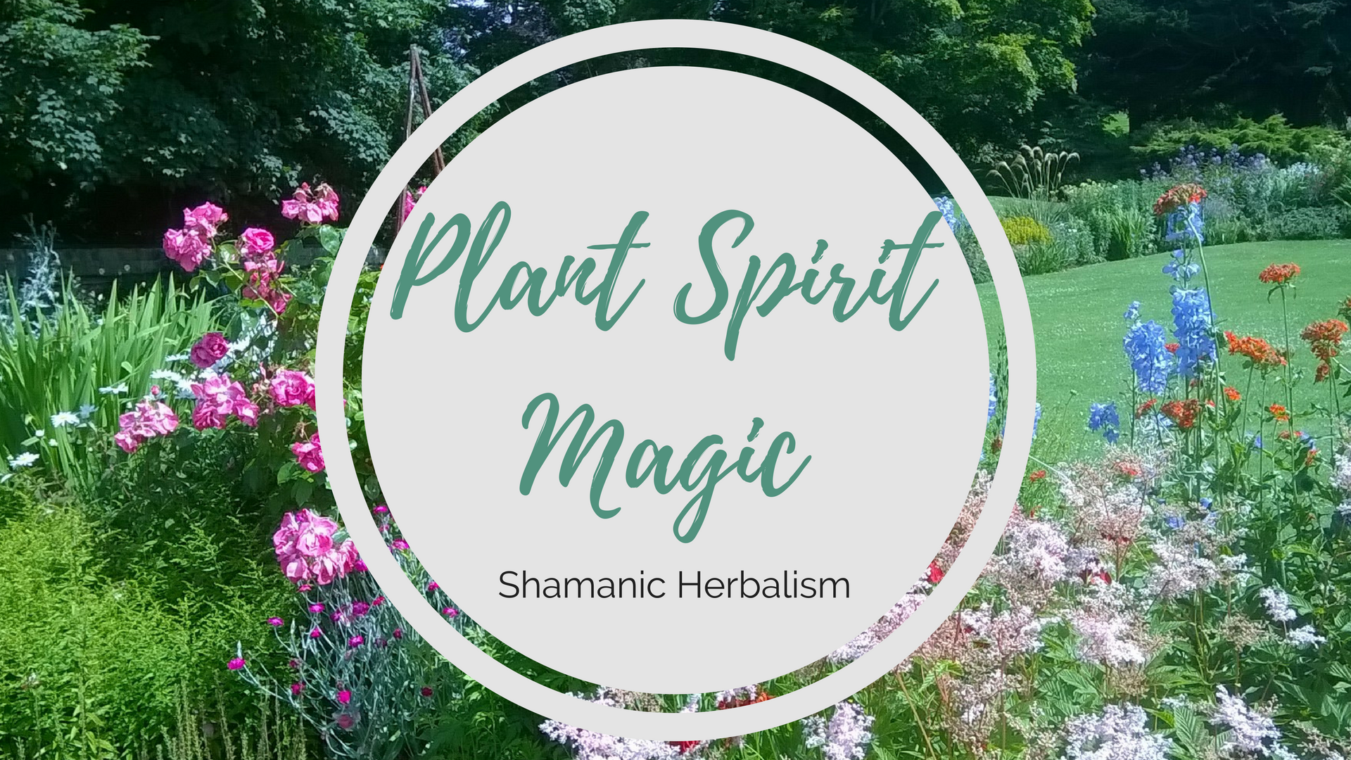 Plant spirit magic Shamanic Herbalism Workshop with Fay Johnstone