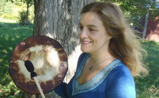 Fay Johnstone Reiki Drum