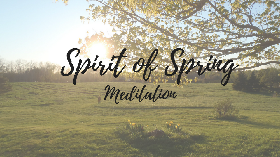 Meditation to meet the Spirit of Spring