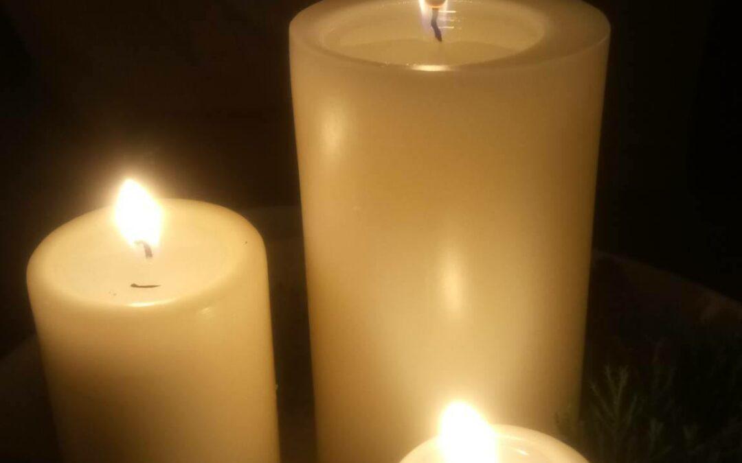 candles simple prayer